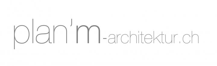 Logo: plan'm architektur